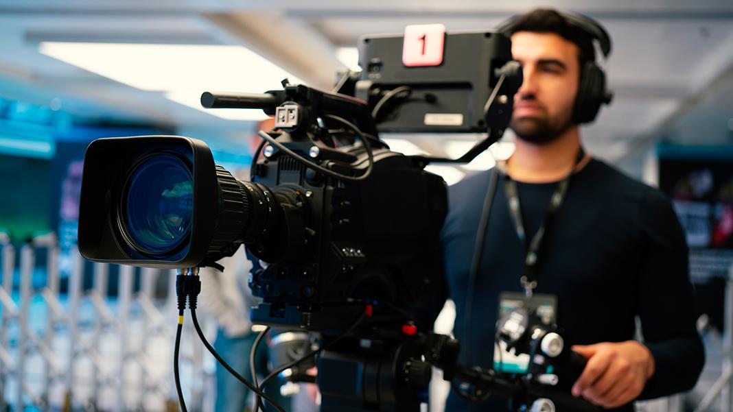 Filmindustrie: Kameramann