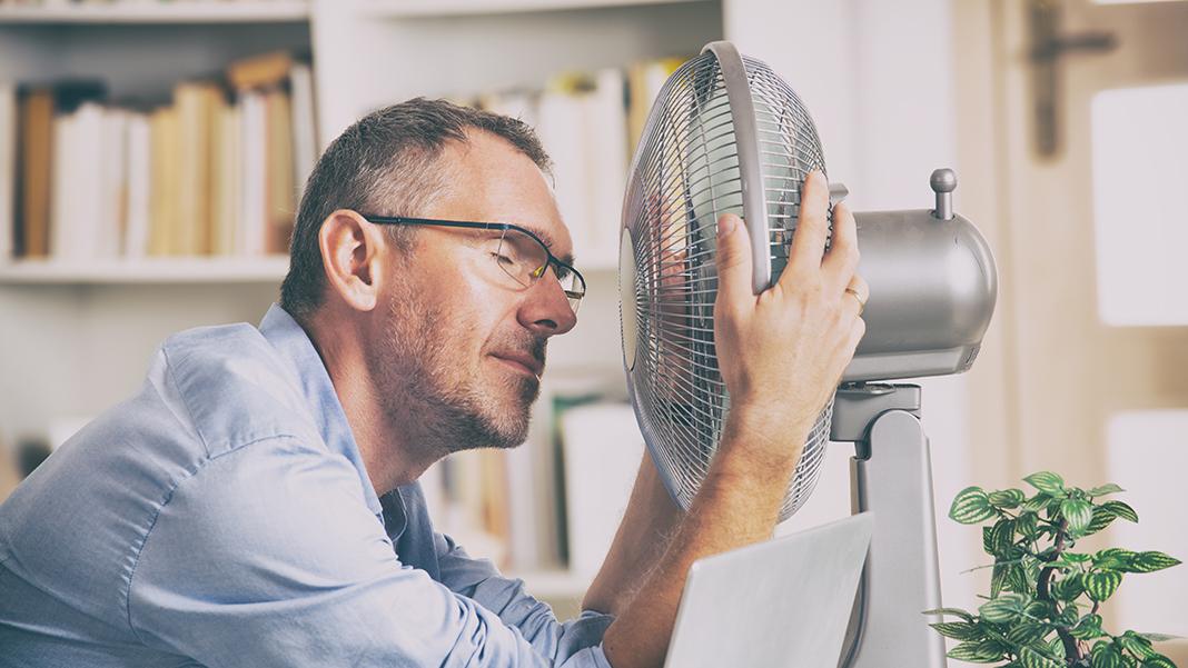 Tipps gegen Hitze im Büro