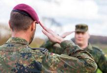 Soldat / Soldatin bei der Bundeswehr