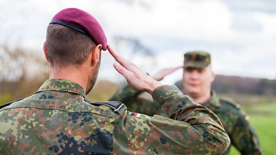 Soldat / Soldatin (Zeitsoldat, Berufssoldat) bei der Bundeswehr